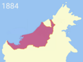 Charles Brooke territorial acquisition (1884).png
