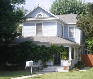 La Verne, California - The Charles E. Straight House in La Verne is listed on the National Register of Historic Places