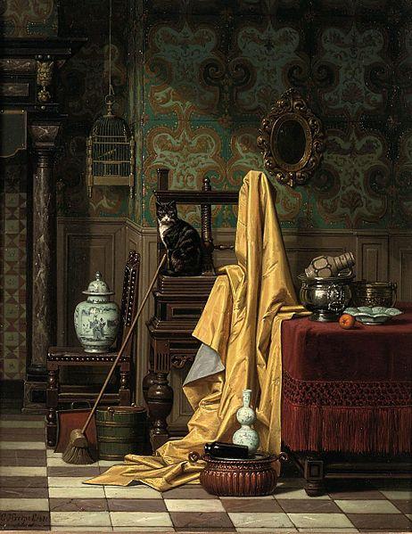 File:Charles Joseph Grips - A Domestic Interior, 1881.jpg