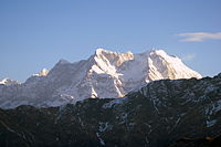 Chaukhamba from Tungnath Early Morning vvnataraj.JPG