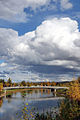 Chena River and bridge, Fairbanks.jpg