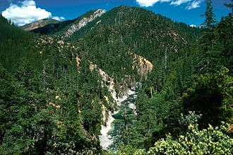 Chetco River - The Chetco River flowing through the Kalmiopsis Wilderness
