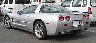 Chevrolet Corvette (C5) - C5 coupé