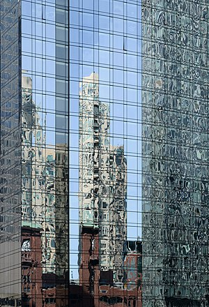 Reflections of OneEleven building