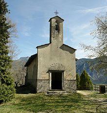 La chiesetta di S. Valentino