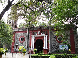 Álvaro Obregón, Mexico City - Church in Colonia Chimalistac.