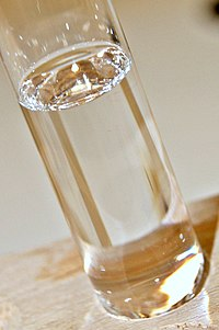 Chloroform in its liquid state shown in a test tube
