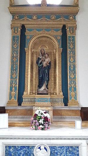 Christ the King Church, Wimbledon Park - Image: Christ the King Church lady chapel, Wimbledon Park