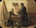Christoffel Bisschop - Heemskerck en Barends, hun tweeden togt naar het Noorden beramende - NG-2017-15 - Rijksmuseum.jpg
