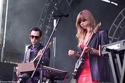Miller et Radelet se produisant au Fun Fun Fun Fest à Austin, Texas, 2013