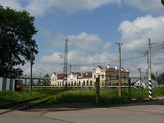 Chudovo, Chudovsky District, Novgorod Oblast - Chudovo railway station