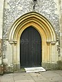Church of the Ascension, Burghclere, Doorway - geograph.org.uk - 1317700.jpg