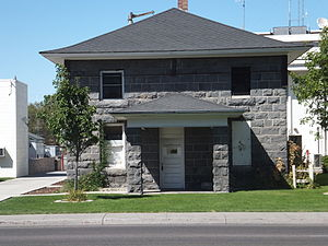 Churchill County Jail - Image: Churchill Jail 1