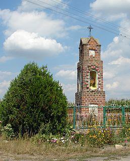 Ciepliny Village in Kuyavian-Pomeranian, Poland