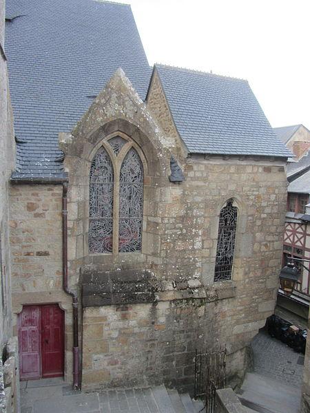 Cimetière du Mont-Saint-Michel, église