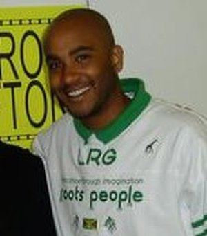 Cirroc Lofton - At the 2003 Motor City Comic Con.