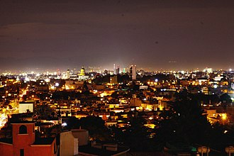 Toluca - Toluca at night.