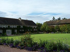 The golf club in Civry-la-Forêt