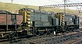 Class 13 no. 13003, permanently coupled Master-Slave locomotives, propelling wagons over the hump at Tinsley Marshalling Yard, Nigel Tout, 6.8.74.jpg