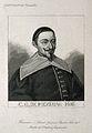 Claude Gaspard Meziriac (Bachet). Line engraving. Wellcome V0004005.jpg