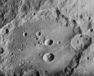 Clavius (crater) - Lunar Orbiter 4 view of Clavius