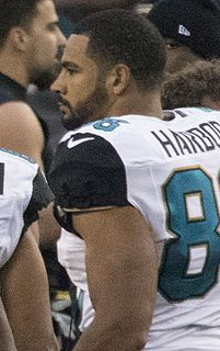 Clay Harbor American football tight end