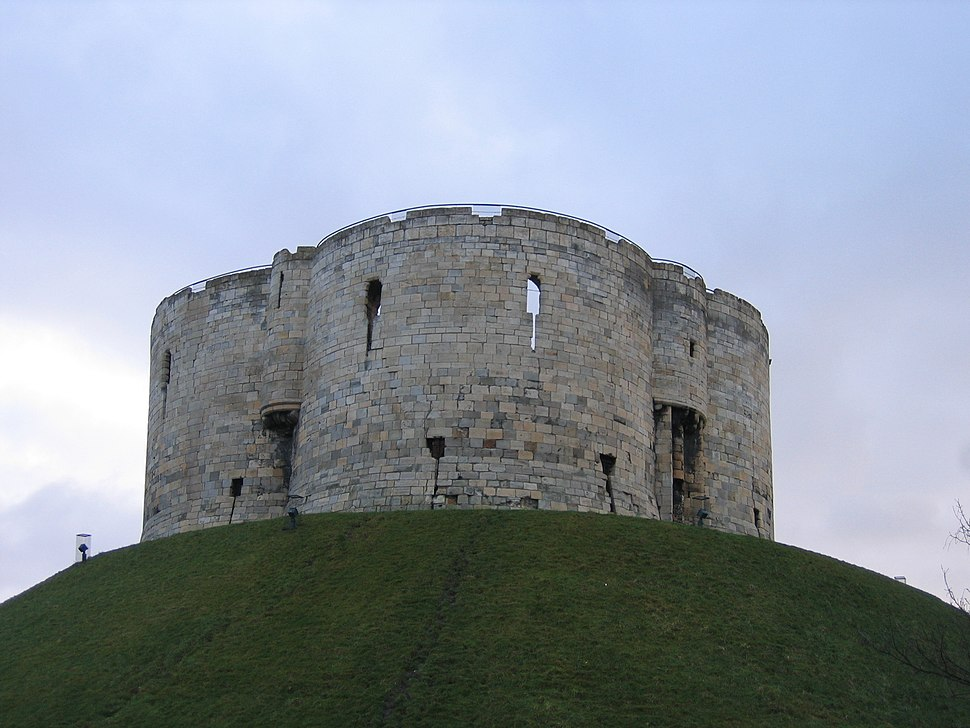 Cliffords Tower from behind