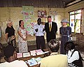 Clinton tour of resource center, Uganda.jpg