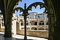 Cloisters of Mosteiro dos Jerónimos, upper floor, 2007-07-20, Lisbon 06.jpg