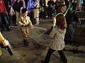 Clone Wars screening - little padawans practice lightsaber dueling (5240102911).jpg
