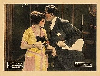 Harry C. Browne - Alice Calhoun and Harry C. Browne in Closed Doors (1921)