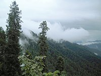 Clouds over the mountains-view from Nathyagali.jpg