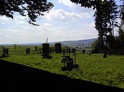 Cmentarz wojenny nr 122 w Łużnej.JPG