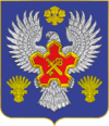 Coat of Arms of Gorodishchensky district (2012) without a crown.png