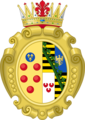 Coat of arms of Anna Maria Franziska of Saxe-Lauenburg.png