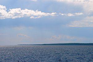 Cockburn Island (Ontario) - Cockburn Island as seen across Mississagi Strait.