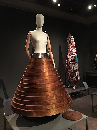 Hussein Chalayan - Coffee-table skirt, 2000.