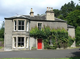 James Balfour (engineer) - Colinton manse