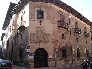 Collegio di Spagna - Exterior view.
