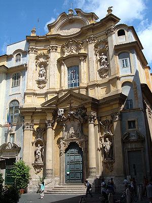 Italiano: Chiesa di Santa Maria Maddelena (Rom...
