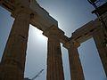 Columnes, Propileus, Acròpoli d'Atenes.JPG