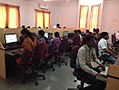 Computer lab in Dept of Mass Comm, Solapur University.jpg