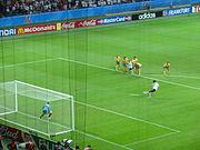 Confed-Cup 2005 Eröffnungsspiel (Elfmeter Ballack)