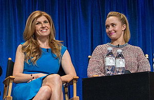 Nashville (2012 TV series) - Connie Britton and Hayden Panettiere at the PaleyFest 2013 panel for the show