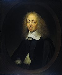 Portrait of Constantijn Huygens (1596-1687), lord of Zuylichem, secretary of Frederik Hendrick, Willem II and Willem III, and poet