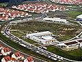 """Construction nears completion on Netzaberg """"MILCON Island"""" at Grafenwoehr (3947193582).jpg"""