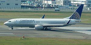 Continental Micronesia - Continental Micronesia Boeing 737-800 at Fukuoka Airport