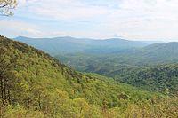 Cool Springs Overlook, Fort Mountain, Georgia April 2016.jpg