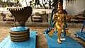 Copper Lord Idols in Andhra Mahavishnu Temple in Srikakulam, Krishna District.jpg
