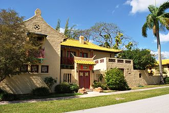 Coral Gables Villages - Chinese Village (Henry Killian Murphy, 1926-1927)